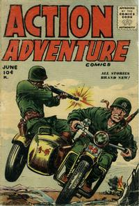 Cover Thumbnail for Action Adventure Comics (Stanley Morse, 1955 series) #2