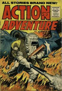 Cover Thumbnail for Action Adventure Comics (Stanley Morse, 1955 series) #4