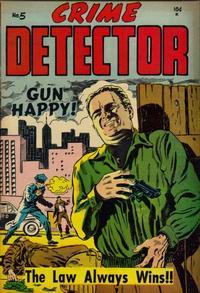 Cover Thumbnail for Crime Detector (Timor, 1954 series) #5