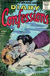 Cover Thumbnail for Diary Confessions (Stanley Morse, 1955 series) #10