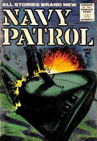 Cover Thumbnail for Navy Patrol (Stanley Morse, 1955 series) #2