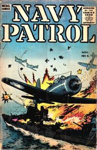 Cover Thumbnail for Navy Patrol (Stanley Morse, 1955 series) #4