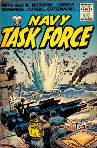 Cover Thumbnail for Navy Task Force (Stanley Morse, 1954 series) #3