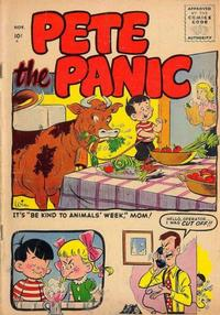 Cover Thumbnail for Pete the Panic (Stanley Morse, 1955 series)