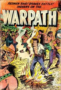 Cover Thumbnail for Warpath (Stanley Morse, 1954 series) #1