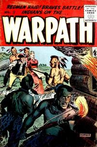 Cover Thumbnail for Warpath (Stanley Morse, 1954 series) #3