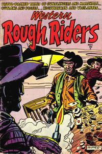 Cover for Western Rough Riders (Stanley Morse, 1954 series) #1