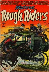 Cover for Western Rough Riders (Stanley Morse, 1954 series) #2