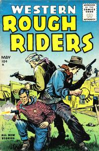 Cover Thumbnail for Western Rough Riders (Stanley Morse, 1954 series) #4