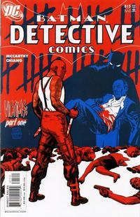 Cover Thumbnail for Detective Comics (DC, 1937 series) #815