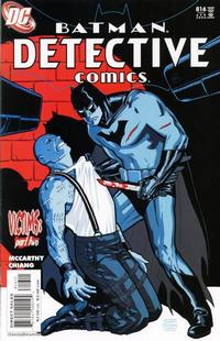 Cover Thumbnail for Detective Comics (DC, 1937 series) #816