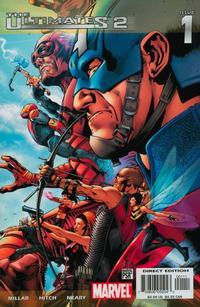 Cover Thumbnail for Ultimates 2 (Marvel, 2005 series) #1 [Regular Cover]