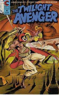 Cover Thumbnail for The Twilight Avenger (Malibu, 1988 series) #2