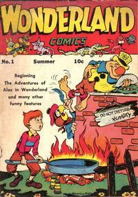 Cover Thumbnail for Wonderland Comics (Prize, 1945 series) #1