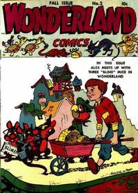 Cover Thumbnail for Wonderland Comics (Prize, 1945 series) #2