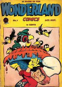 Cover Thumbnail for Wonderland Comics (Prize, 1945 series) #7