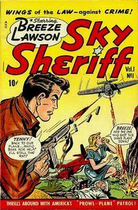 Cover Thumbnail for Breeze Lawson, Sky Sheriff (D.S. Publishing, 1948 series) #v1#1