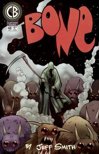 Cover Thumbnail for Bone (Cartoon Books, 1997 series) #48