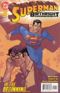 Cover Thumbnail for Superman: Birthright (DC, 2003 series) #1