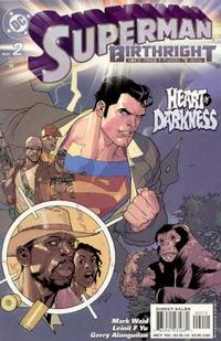 Cover Thumbnail for Superman: Birthright (DC, 2003 series) #2 [Direct Sales]