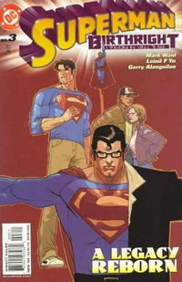 Cover Thumbnail for Superman: Birthright (DC, 2003 series) #3 [Direct Sales]