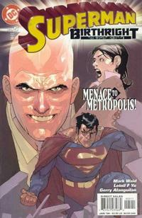 Cover Thumbnail for Superman: Birthright (DC, 2003 series) #5 [Direct Sales]