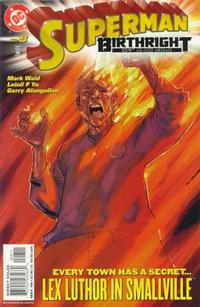 Cover Thumbnail for Superman: Birthright (DC, 2003 series) #8 [Direct Sales]
