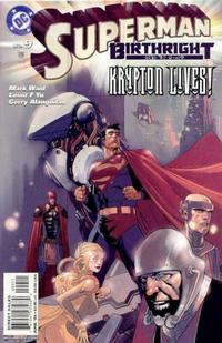 Cover Thumbnail for Superman: Birthright (DC, 2003 series) #9 [Direct Sales]
