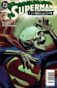 Cover Thumbnail for Superman: Birthright (DC, 2003 series) #10 [Direct Sales]