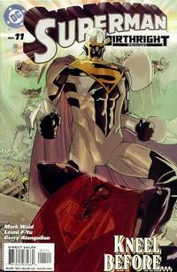 Cover Thumbnail for Superman: Birthright (DC, 2003 series) #11 [Direct Sales]