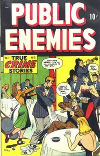 Cover Thumbnail for Public Enemies (D.S. Publishing, 1948 series) #v1#2