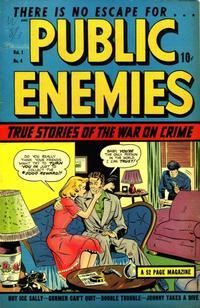 Cover Thumbnail for Public Enemies (D.S. Publishing, 1948 series) #v1#4