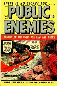 Cover Thumbnail for Public Enemies (D.S. Publishing, 1948 series) #v1#5
