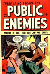 Cover for Public Enemies (D.S. Publishing, 1948 series) #v1#6