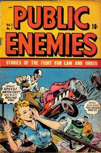 Cover Thumbnail for Public Enemies (D.S. Publishing, 1948 series) #v1#7