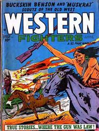 Cover Thumbnail for Western Fighters (Hillman, 1948 series) #v3#8