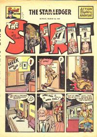 Cover Thumbnail for The Spirit (Register and Tribune Syndicate, 1940 series) #3/30/1947