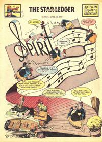 Cover Thumbnail for The Spirit (Register and Tribune Syndicate, 1940 series) #4/20/1947