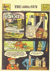 Cover for The Spirit (Register and Tribune Syndicate, 1940 series) #6/29/1947