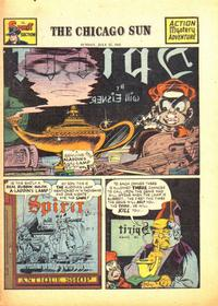 Cover Thumbnail for The Spirit (Register and Tribune Syndicate, 1940 series) #7/27/1947