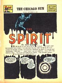 Cover Thumbnail for The Spirit (Register and Tribune Syndicate, 1940 series) #9/14/1947