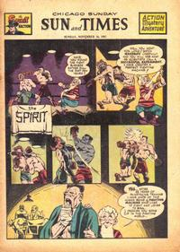 Cover Thumbnail for The Spirit (Register and Tribune Syndicate, 1940 series) #11/16/1947