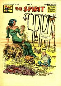 Cover Thumbnail for The Spirit (Register and Tribune Syndicate, 1940 series) #11/23/1947