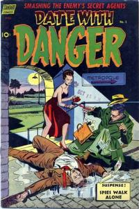 Cover Thumbnail for Date with Danger (Pines, 1952 series) #5
