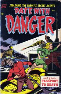Cover Thumbnail for Date with Danger (Pines, 1952 series) #6