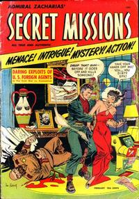Cover Thumbnail for Secret Missions (St. John, 1950 series) #1