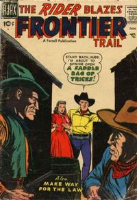 Cover Thumbnail for The Rider (Farrell, 1957 series) #5