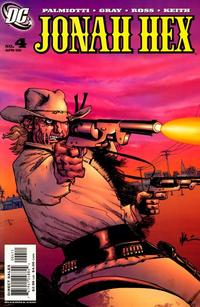 Cover Thumbnail for Jonah Hex (DC, 2006 series) #4