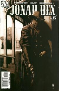 Cover Thumbnail for Jonah Hex (DC, 2006 series) #5