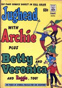 Cover Thumbnail for Jughead with Archie Plus Betty & Veronica & Reggie, Too (Archie, 1974 series) #1